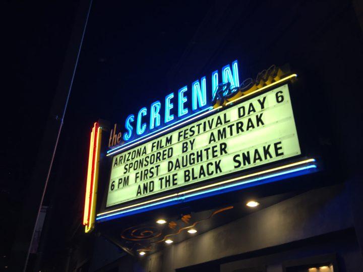 AZIFF 4/24/2017 screening at the Screening Room in Tucson, AZ